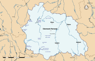Liste Des Cours Deau Du Puy De Dôme Wikipédia