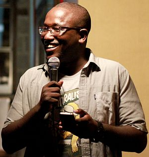 Hannibal Buress - Buress hosting his Sunday night showcase at The Knitting Factory in Brooklyn, New York on July 29, 2012