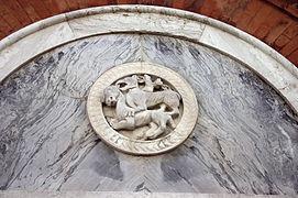 7392 - Venezia - Fondaco dei Turchi (sec. XII) - Dettaglio fiancata (Federico Berchet, 1869) Foto Giovanni Dall'Orto - 16-Aug-2008.jpg