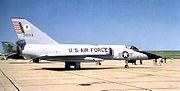 73d Air Division Air Defense Weapons Center Convair F-106A-130-CO Delta Dar 59-0119