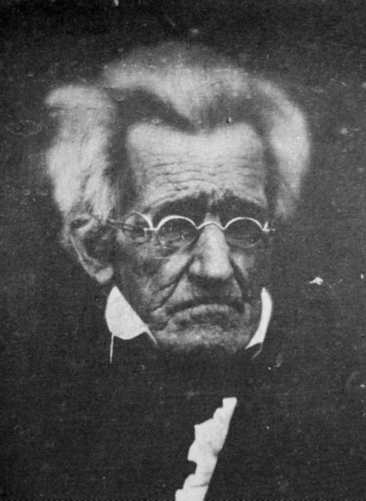 78-year-old Andrew Jackson