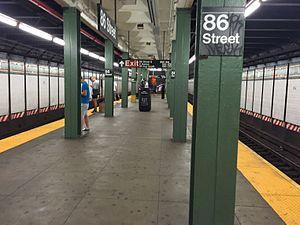 86th Street (BMT Fourth Avenue Line) - Station platform