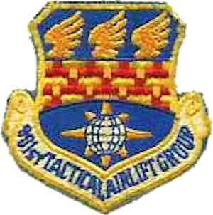 901st Tactical Airlift Group - Image: 901st Tactical Airlift Group Emblem