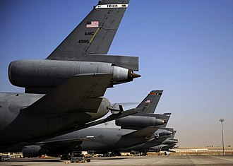 908th Expeditionary Air Refueling Squadron - 908th Expeditionary Air Refueling Squadron KC-10 Extenders in Southwest Asia, 2010