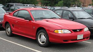Ford Mustang (fourth generation) - Image: 94 98 Ford Mustang coupe
