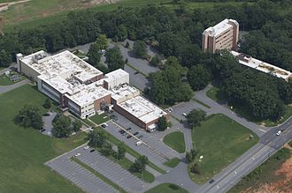 Asheville–Buncombe Technical Community College - Aerial view of the A-B Tech Enka Campus