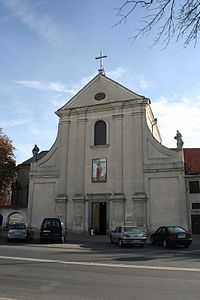 A498 zespół klasztorny kapucynów ul. Krakowskie Przedmieście 42 Lublin days.jpg