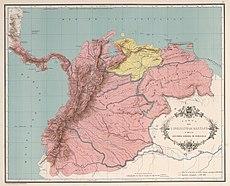 AGHRC (1890) - Carta IV - Virreinato de Santafé y Capitanía General de Venezuela.jpg