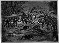 """ATAQUE de la 3ª DIVISION del 2º CUERPO de EJERCITO á las órdenes del Coronel D. CESÁREO DOMINGUEZ à la TRINCHERA PARAGUAYA del BOQUERON DE PIRIS (Batalle del """"Sauce"""" de los Paraguayos).jpg"""