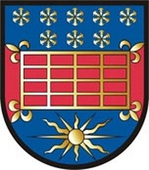 Snowflake (heraldry) - Image: AUT Sankt Lorenzen am Wechsel COA