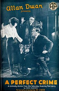 <i>A Perfect Crime</i> 1921 film by Allan Dwan, Wilfred Buckland