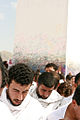 A pillar adorns the top of Mt Arafat - Flickr - Al Jazeera English.jpg