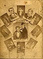 A publicity collage of the Wymans--an acting couple--in various roles (SAYRE 13085).jpg