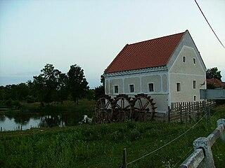 Szécsisziget Village in Western Transdanubia, Hungary