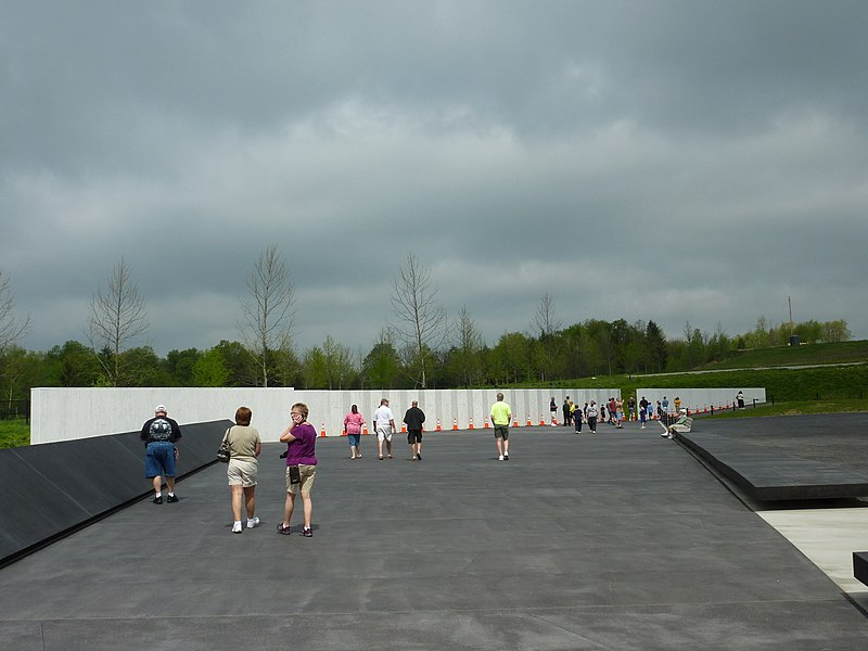 File:A tour of the Flight 93 National Memorial - 13.jpg