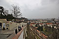 A view of Malá Strana the path down from Prague Castle on an overcast day, 2014-03-06.jpg