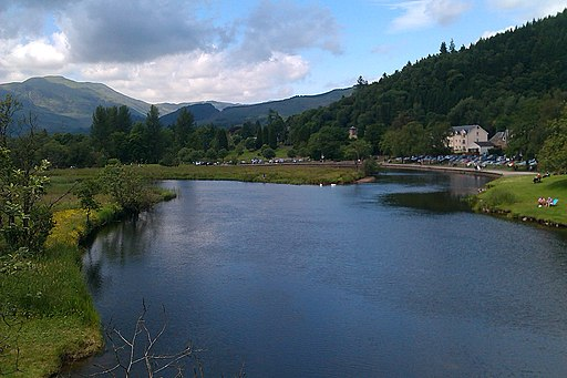 A view of the river Teith in Callander. - panoramio