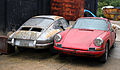 Abandoned Porsche cars at Hatfield Broad Oak Essex England 02.JPG