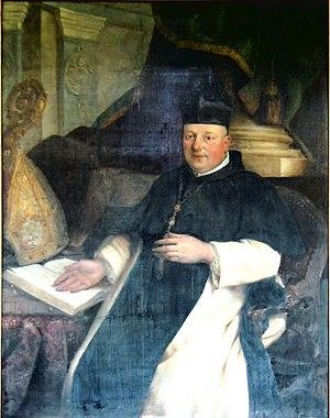 St. Bernard's Abbey, Hemiksem - Abbot Benedict Neefs ca. 1780