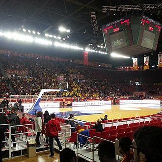Abdi İpekçi Arena - Image: Abdi İpekçi Arena İç