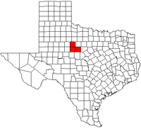 Map of Abilene Metropolitan Area