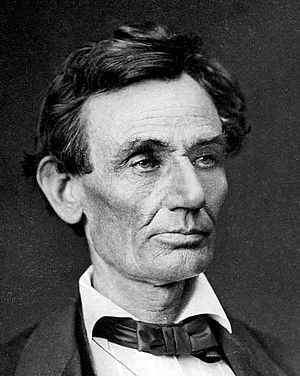 United States presidential election in Missouri, 1860 - Image: Abraham Lincoln by Alexander Helser, 1860 crop