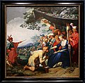 Abraham bloemaert, teagene riceve la palma dell'onore da cariclea, 1626.jpg
