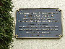 Tafel in Eilenburg (Quelle: Wikimedia)