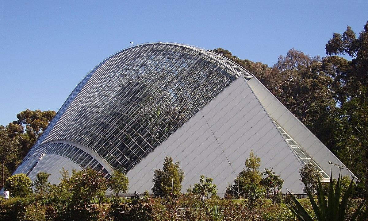 Adelaide Botanic Gardens Bicentennial conservatory.JPG