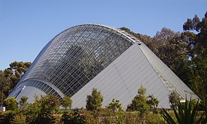 Conservatory (greenhouse) - A modern implementation, Adelaide's Bicentennial Conservatory