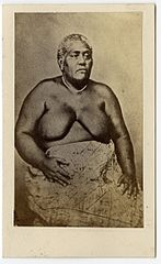 Adi Litia Samanunu, the wife of Cakobau (British Museum).jpg