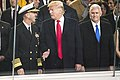 Adm. John M. Richardson, Donald J. Trump, and Mike Pence, Jan. 20, 2017.jpg