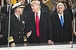 Adm. John M. Richardson, Donald J. Trump, and Mike Pence, Jan. 20, 2017.jpg