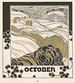 Adolf Michael Boehm - Herbstglut - Kalender 1901.jpg