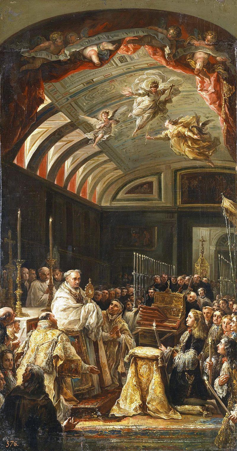 Adoraciуn de la Sagrada Forma por Carlos II (Museo del Prado).jpg