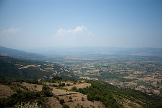 Ainis - View of Ainis from Mount Oeta