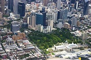 garden in Melbourne, Australia