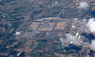 Alfa Romeo Pomigliano d'Arco plant - Aerial view, 2010