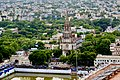 Aerial view of Our Lourdes church in Tiruchirapalli 1.jpg