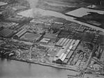 Aerial view of the US Naval Aircraft Factory on 14 November 1918.jpg