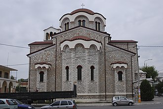 Drama, Greece - The church of St. Panteleimon