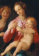 Agnolo Bronzino - Virgin and Child with the Young Saint John the Baptist - 1963.206 - Art Institute of Chicago.jpg