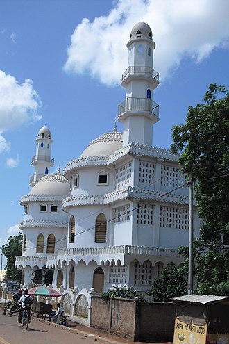 Religion in Ghana - Ahmadiyya Central Mosque, Tamale, Dagbon.