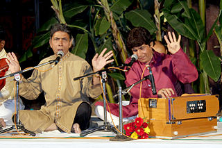 Ahmed and Mohammed Hussain Indian musicians