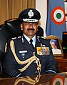 Air Chief Marshal Arup Raha takes over as Chief of the Air Staff, in New Delhi on December 31, 2013.jpg