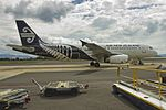Air New Zealand Airbus A320-232 ZK-OJE at ROT (16758534145).jpg