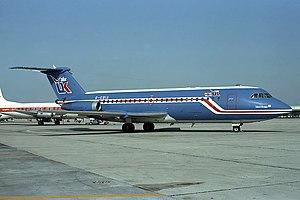 AirUK - An Air UK One-Eleven in the original all-blue scheme in 1981.