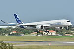 Airbus A350-900 XWB Airbus Industries (AIB) MSN 001 - F-WXWB (10498346544).jpg