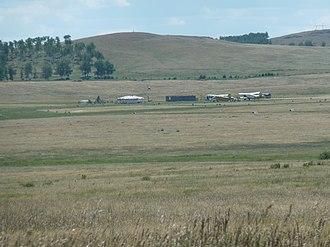 Agapovsky District - Airfield in Agapovsky District