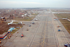 Perm International Airport - Apron view